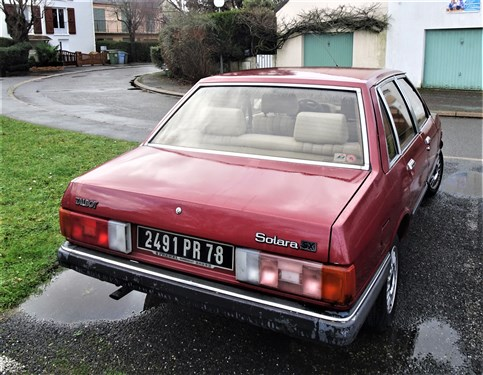 Talbot Solara SX Dsc02210