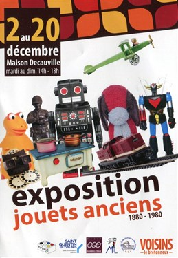 Voisins-le-Bretonneux. Exposition de jouets anciens, décembre 2017 Img84110