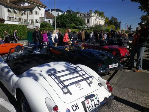 Morges, Swiss Classic British Car Meeting, 7 octobre 2017 Morges24