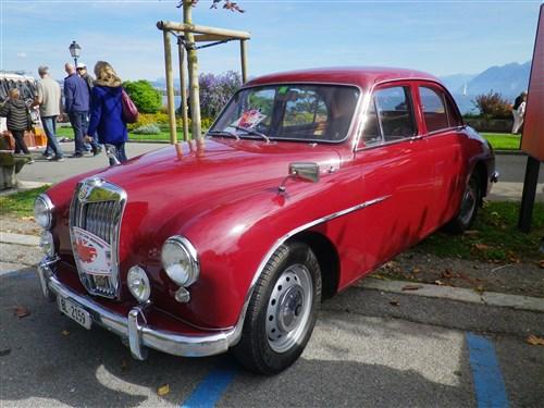 Morges, Swiss Classic British Car Meeting, 7 octobre 2017 Morges41