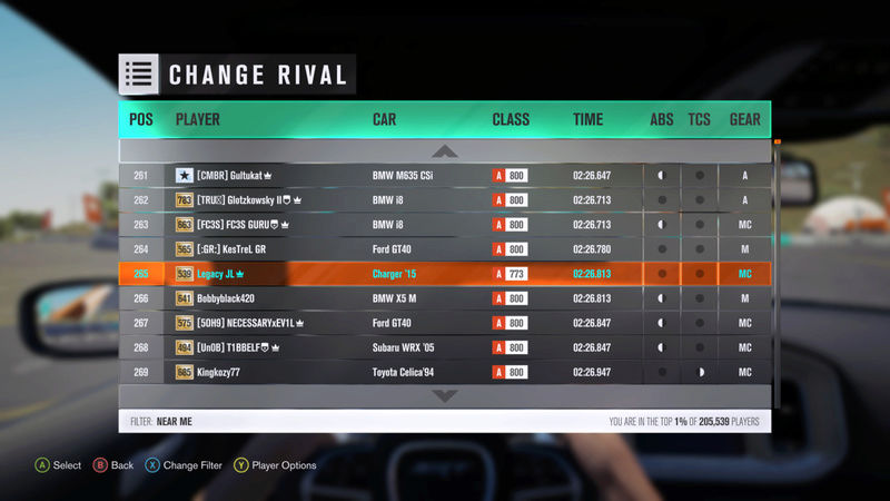 FH3 Time Attack | Stock Car Challenge #25 (2015 Dodge Charger SRT Hellcat) 00001_19