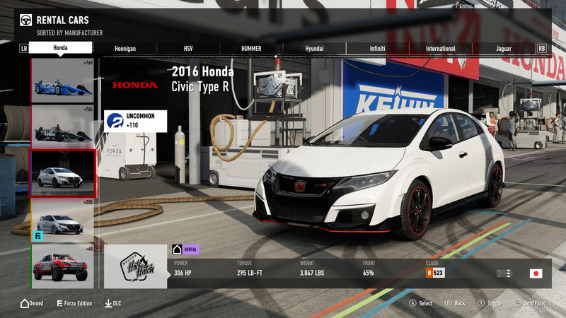 FM7 Time Attack | Stock Car Challenge #10 (2016 Civic Type R) 0001_m18