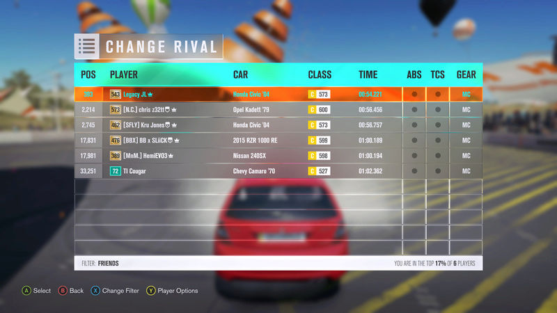 FH3 Time Attack | Stock Car Challenge #28 (2004 Honda Civic Type-R) 2-18-212