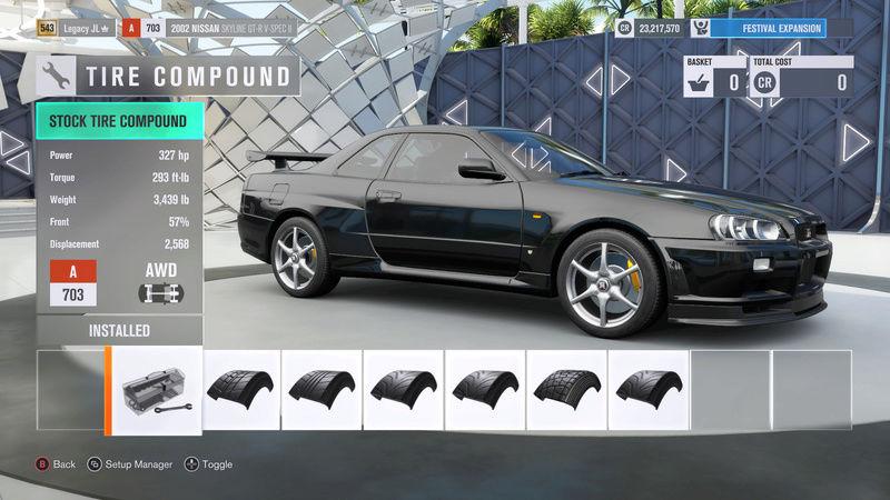FH3 Time Attack | Stock Car Challenge #29 (2002 Nissan Skyline GT-R V-Spec II) 2-24-210