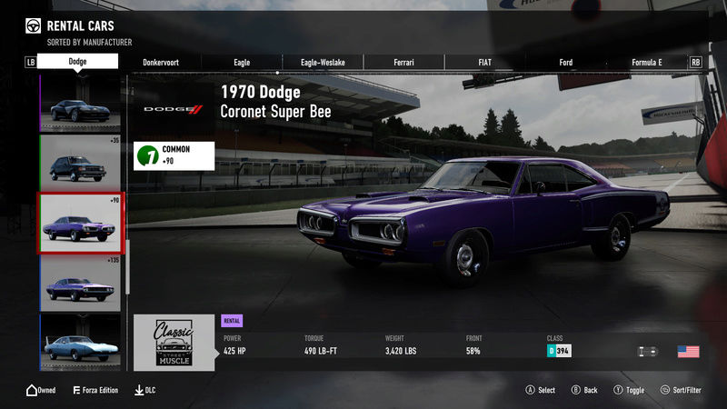 FM7 Time Attack | Stock Car Challenge #14 (1970 Dodge Coronet Super Bee) 2-25-212
