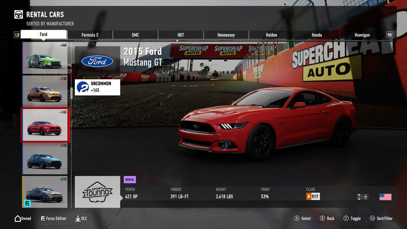 FM7 Time Attack | Stock Car Challenge #12 (2015 Ford Mustang GT) 2-5-2013