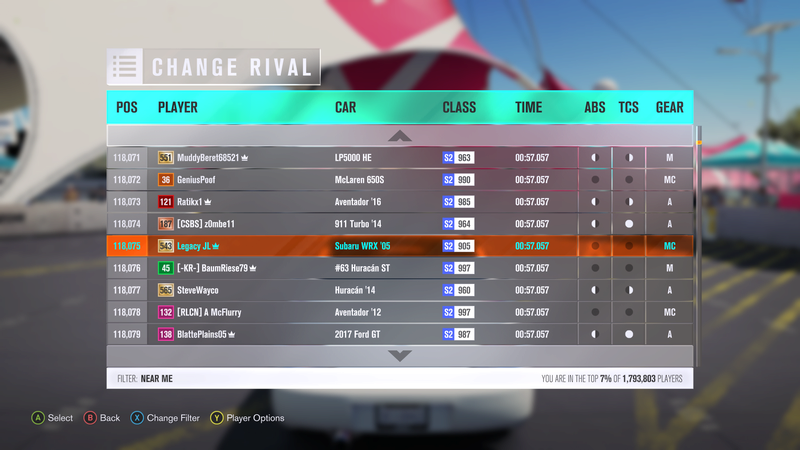 FH3 Time Attack | Rolling Meadows Circuit - 500HP (FWD/RWD/AWD) 3-11-210