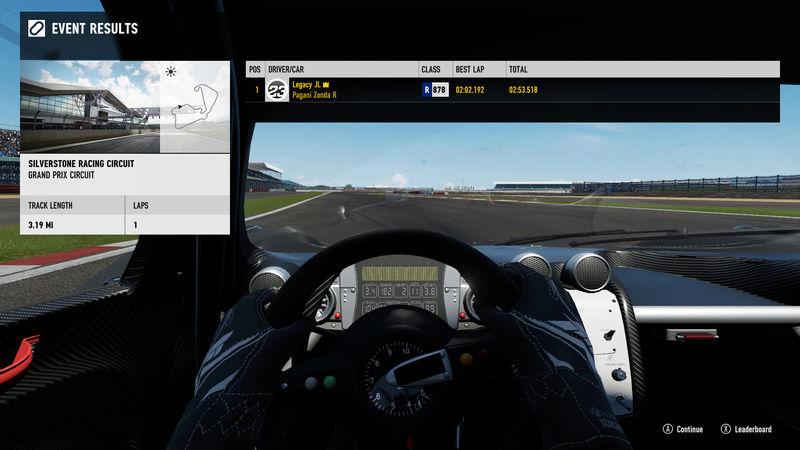 FM7 Time Attack | Stock Car Challenge #16 (2010 Pagani Zonda R) 3-11-213