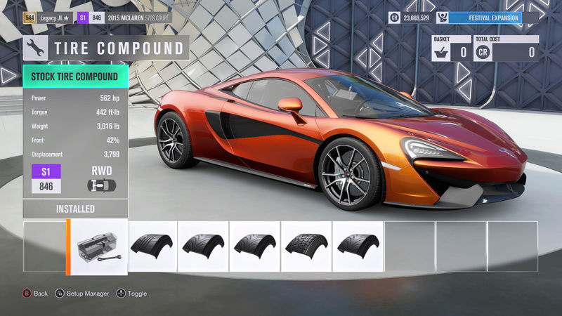 FH3 Time Attack | Stock Car Challenge #32 (2015 McLaren 570S Coupe) 3-15-210