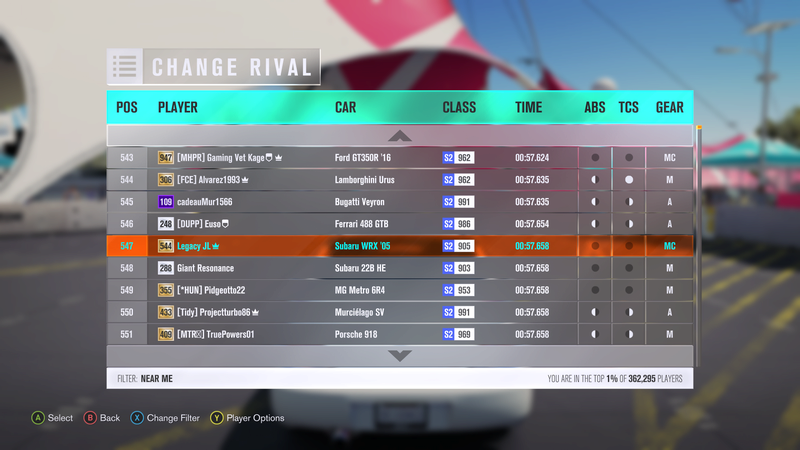 FH3 Time Attack | North Plains Scramble - 500HP (FWD/RWD/AWD) 3-17-210