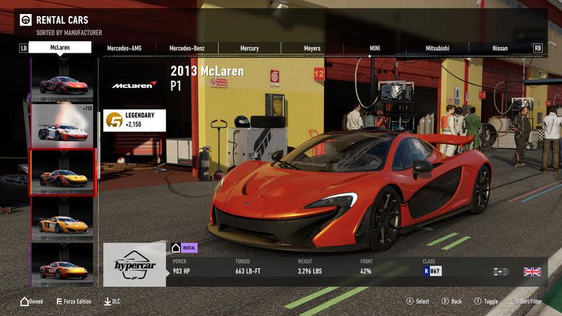 FM7 Time Attack | Stock Car Challenge #17 (2013 McLaren P1) 3-18-213