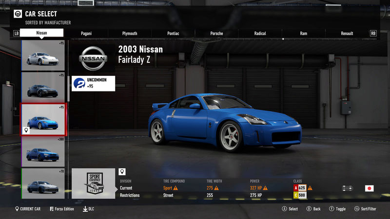 FM7 Time Attack | Modified 2003 Nissan Fairlady Z 3-24-211