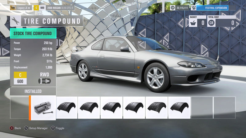 FH3 Time Attack | Stock Car Challenge #34 (2000 Nissan Silvia Spec-R) 4-1-2010