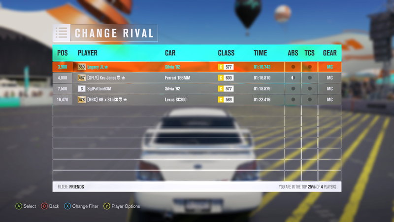 FH3 Time Attack   Stock Car Challenge #36 (1992 Nissan Silvia Club K's) 4-16-211