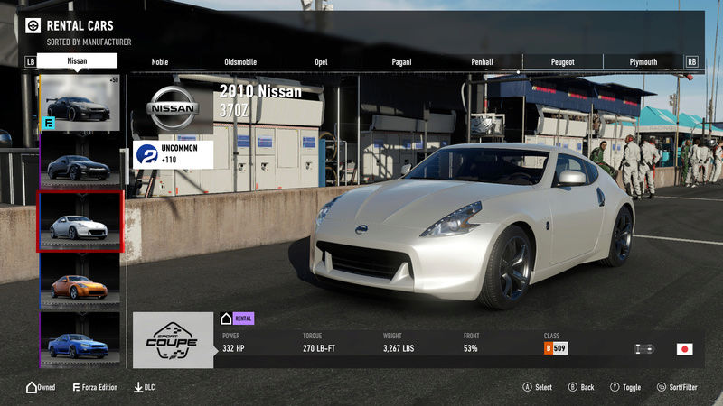 FM7 Time Attack | Stock Car Challenge #20 (2010 Nissan 370Z) 4-16-214