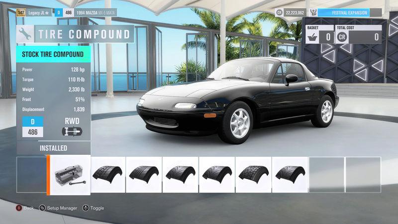FH3 Time Attack   Stock Car Challenge #35 (1994 Mazda MX-5 Miata) 4-8-2010