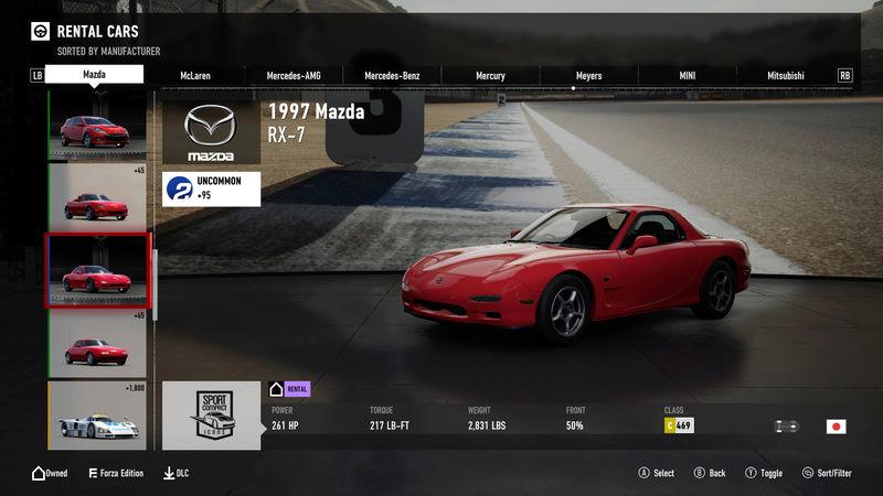 FM7 Time Attack | Stock Car Challenge #19 (1997 Mazda RX-7) 4-8-2011