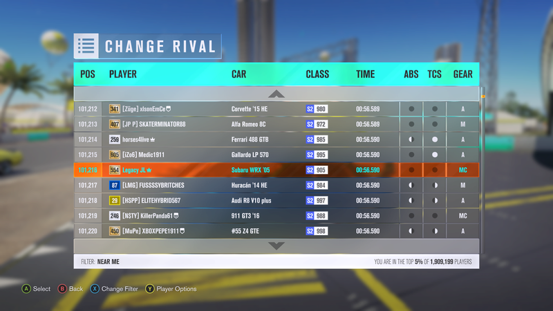 FH3 Time Attack | Rolling Meadows Circuit - 500HP (FWD/RWD/AWD) 5-22-210