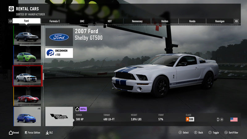 FM7 Time Attack | Stock Car Challenge #22 (2007 Ford Shelby GT500) 5-22-213