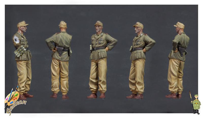 DAK - Soldat Afrika Korps 1/35ème de la marque SCALE 75 Africa11