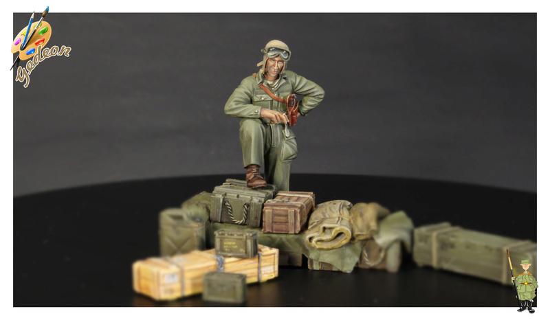U.S. Tank crew en resine 1/35ème (marque WARRIORS et ROYAL  MODEL)   Img_1114