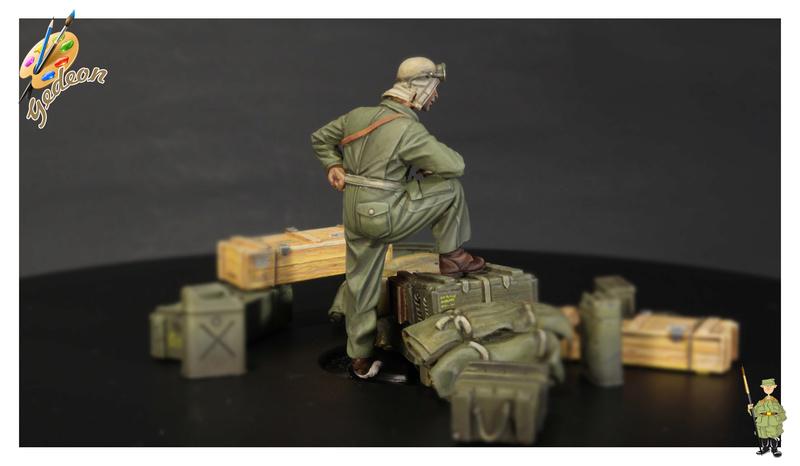 U.S. Tank crew en resine 1/35ème (marque WARRIORS et ROYAL  MODEL)   Img_1116