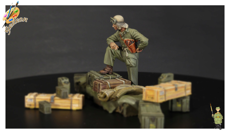 U.S. Tank crew en resine 1/35ème (marque WARRIORS et ROYAL  MODEL)   Img_1117