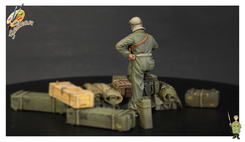 U.S. Tank crew en resine 1/35ème (marque WARRIORS et ROYAL  MODEL)   Img_1119