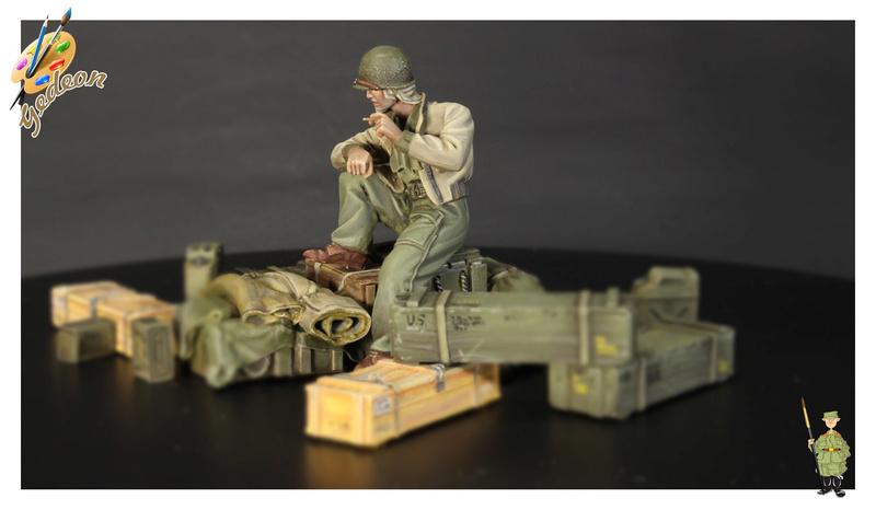 U.S. Tank crew en resine 1/35ème (marque WARRIORS et ROYAL  MODEL)   Img_1122