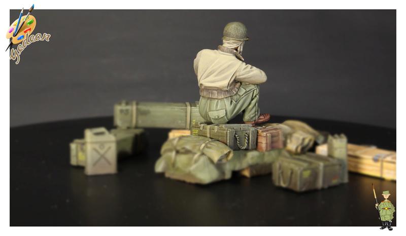 U.S. Tank crew en resine 1/35ème (marque WARRIORS et ROYAL  MODEL)   Img_1124