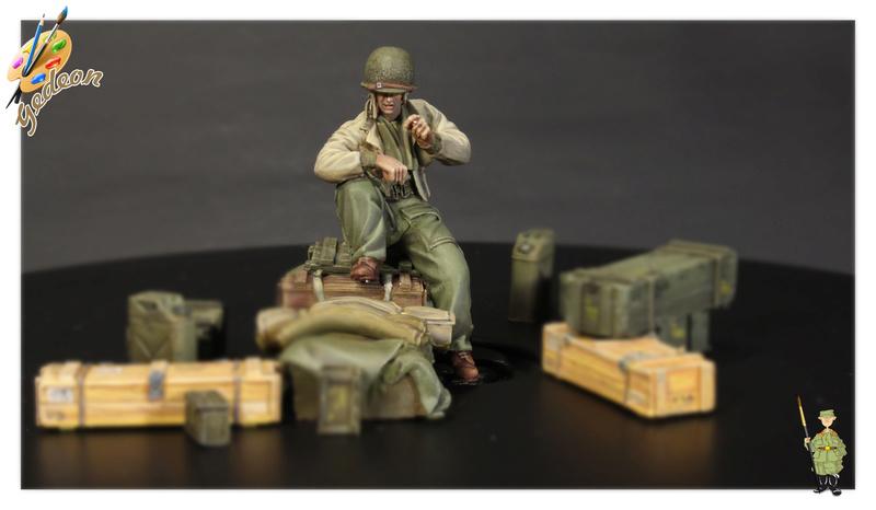 U.S. Tank crew en resine 1/35ème (marque WARRIORS et ROYAL  MODEL)   Img_1125