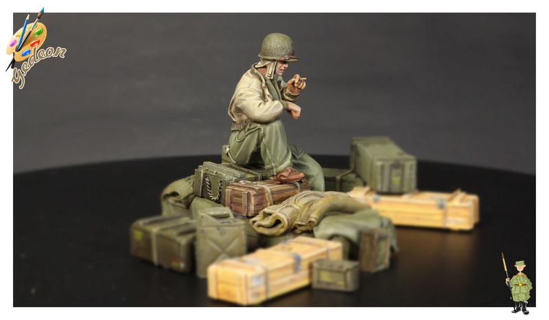 U.S. Tank crew en resine 1/35ème (marque WARRIORS et ROYAL  MODEL)   Img_1126