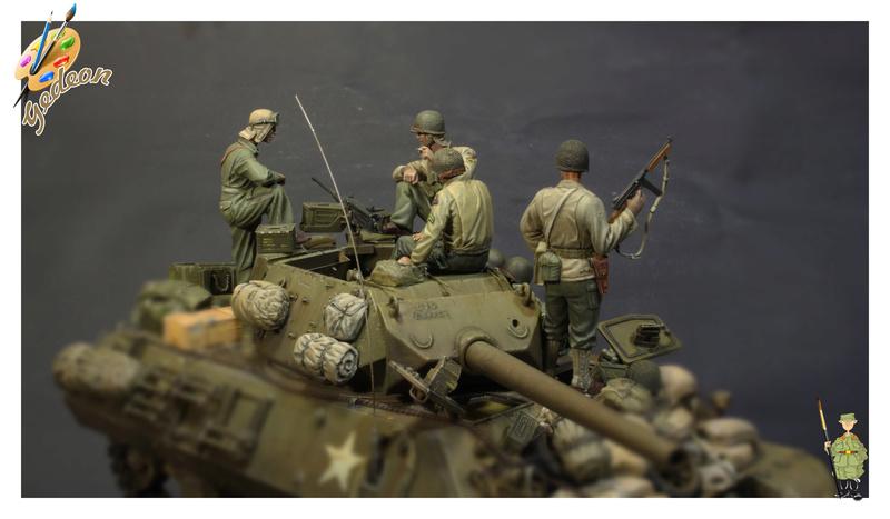 U.S. Tank crew en resine 1/35ème (marque WARRIORS et ROYAL  MODEL)   Img_1210