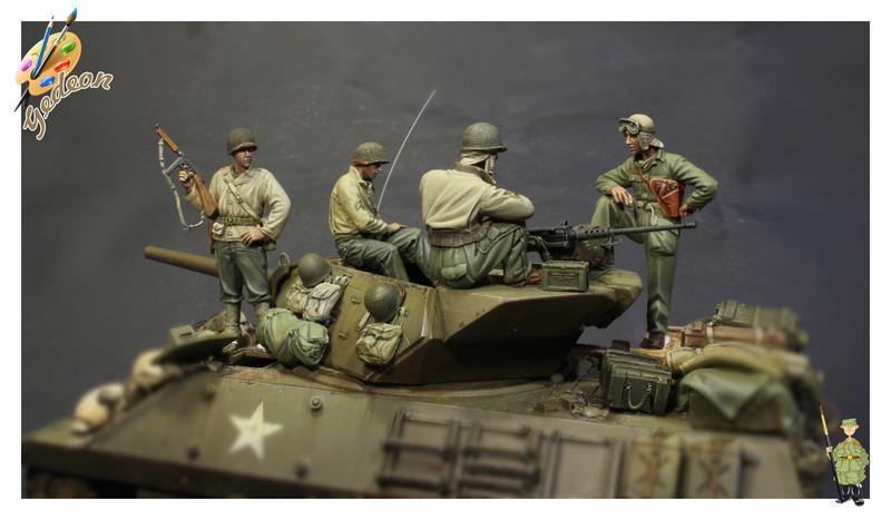 U.S. Tank crew en resine 1/35ème (marque WARRIORS et ROYAL  MODEL)   Img_1212