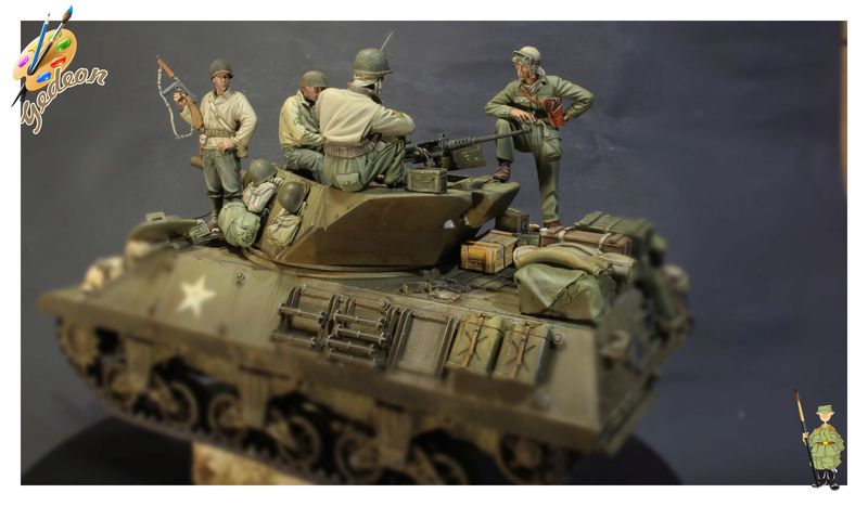 U.S. Tank crew en resine 1/35ème (marque WARRIORS et ROYAL  MODEL)   Img_1213