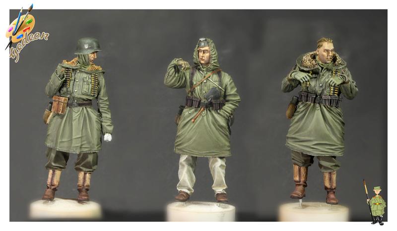 Evolution miniature SS Grenadiers LAH. SET AU 1/35 Résine (la suite 3) Team_m15