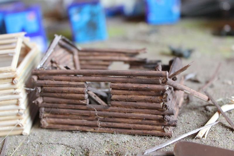 Diorama: Assaut contre un village sur le front de l'Est, hiver 1944-1945 Img_2221
