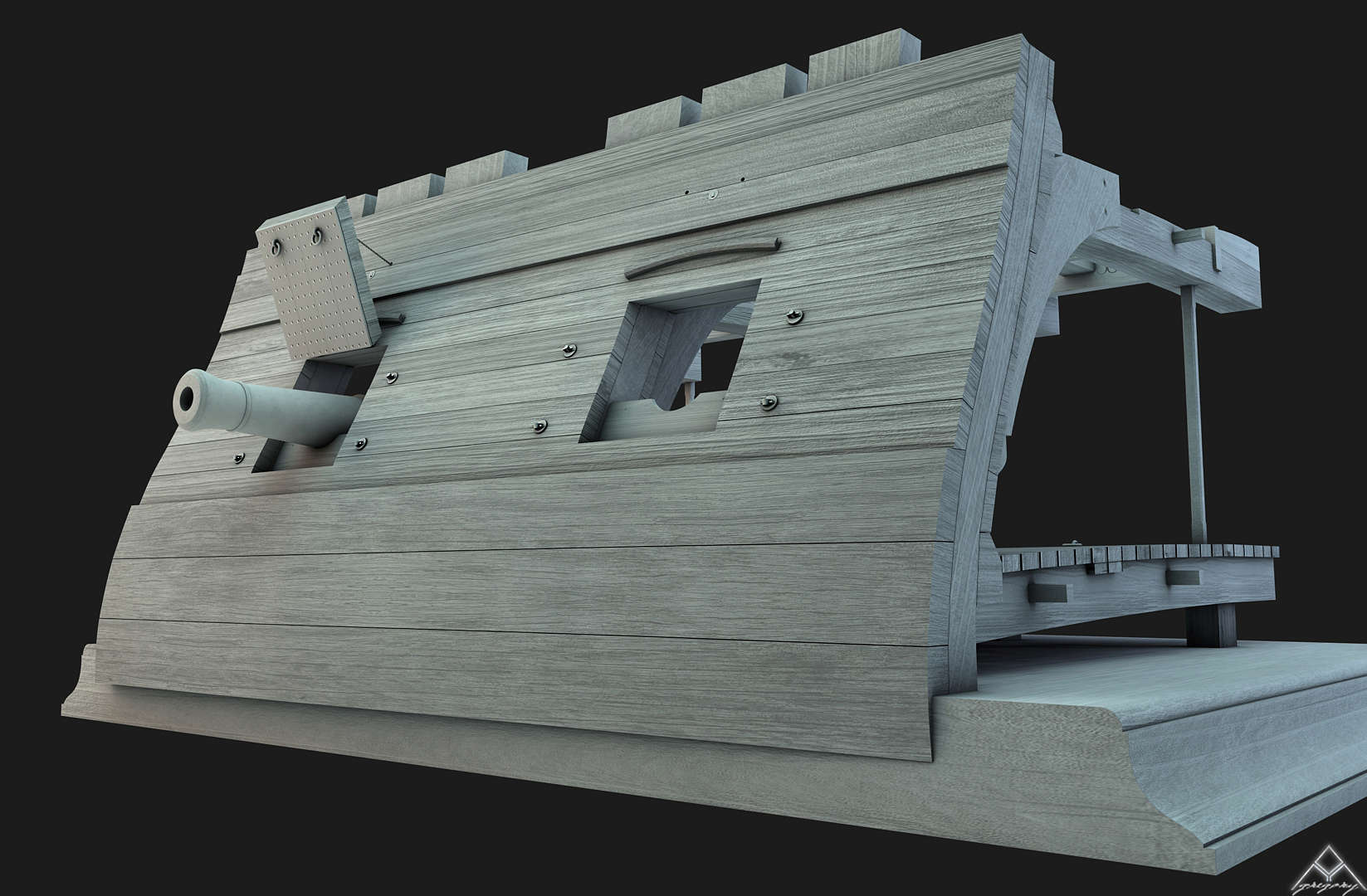 Canons pour le vaisseau de 74 canons - Page 5 Cam_810