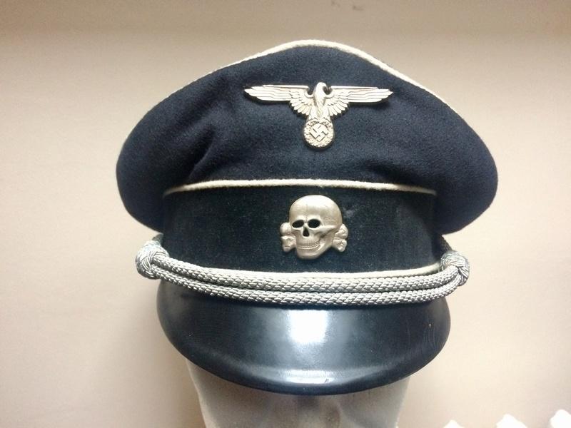 Authenticité casquette SS 228cc310