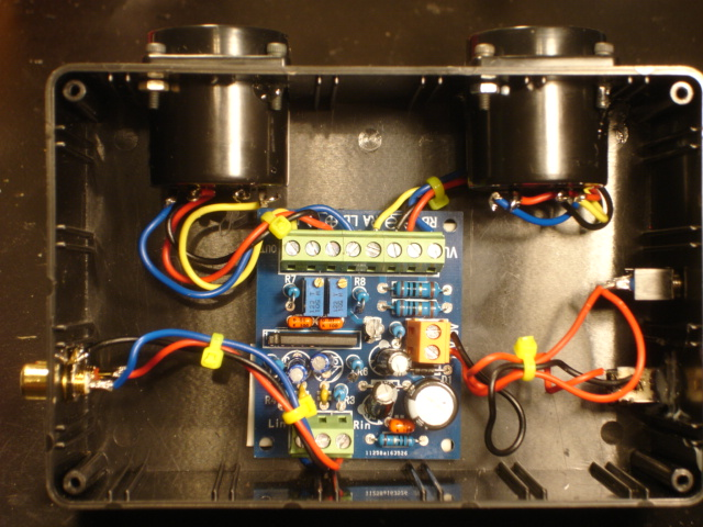 VU meter project Dsc00022