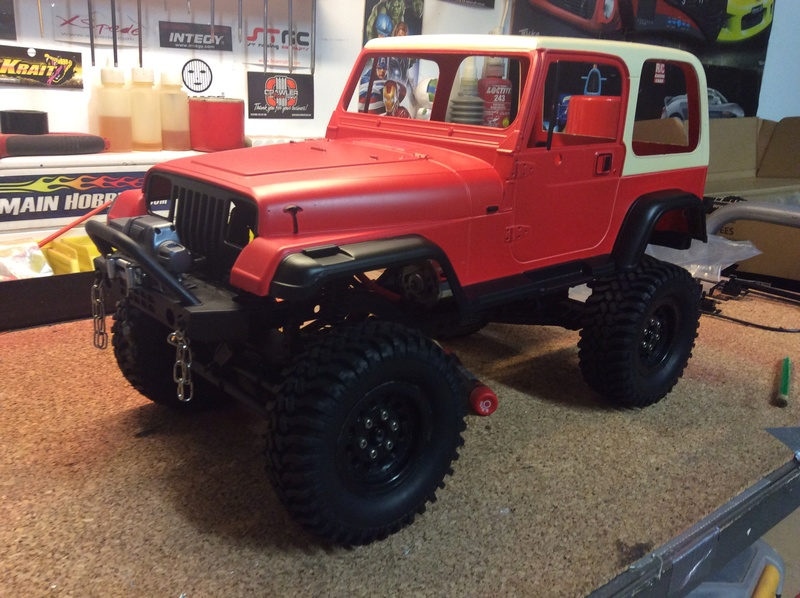 Montage MST CMX Kit : Jeep & Hummer - Page 4 459bac10