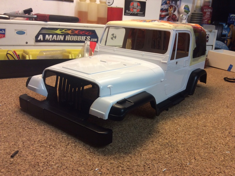 Montage MST CMX Kit : Jeep & Hummer - Page 3 E9145110