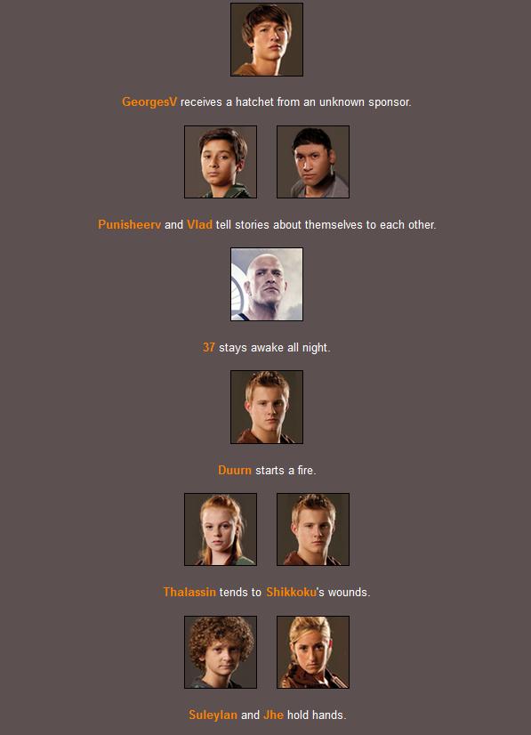 [FIC] Les Hungers Games de CSP Night311