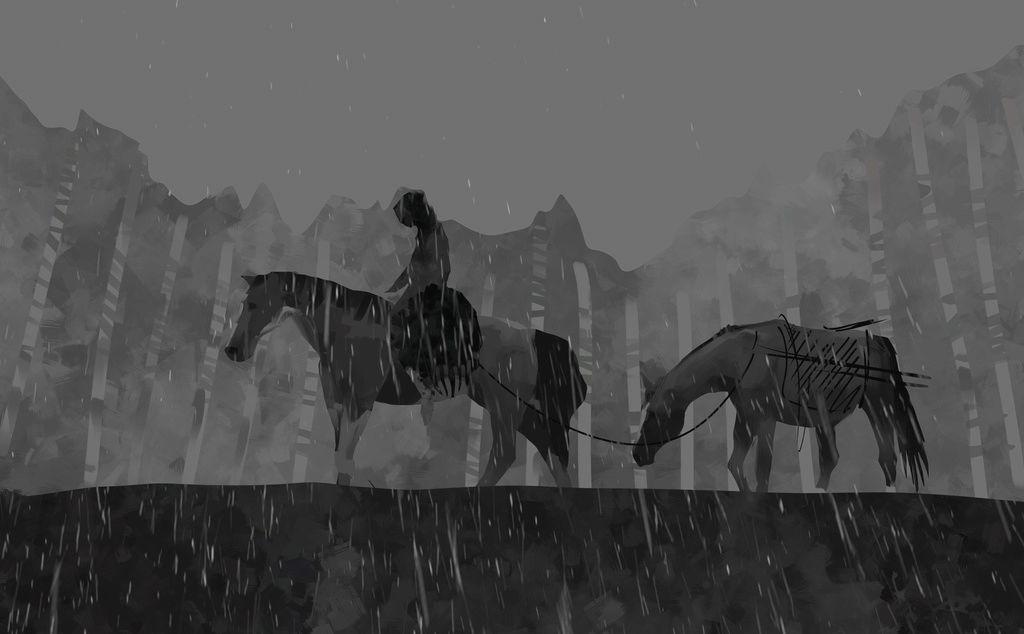 [NUDITE] -Saezher- Etudes, croquis et autres essais - Page 11 Horses10