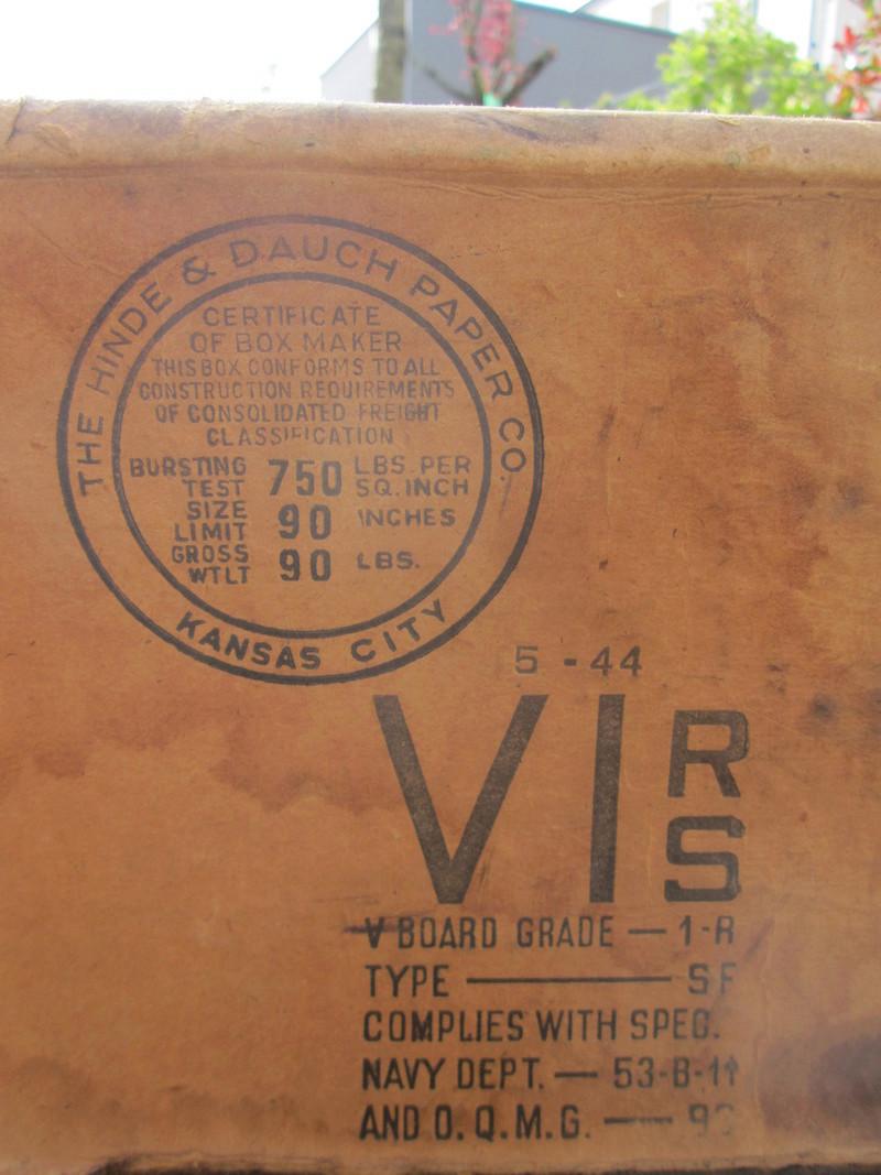 Rations US 1944 Img_5525