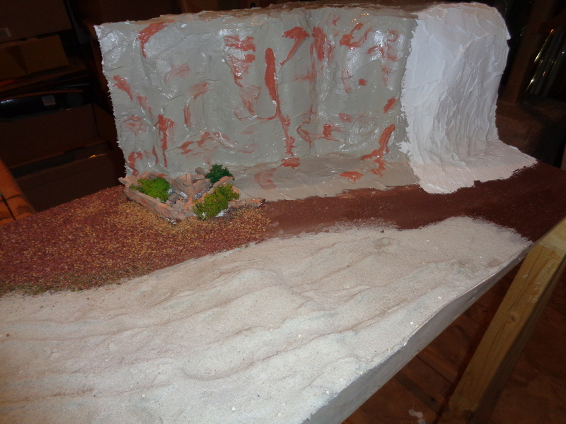 """Baubericht """"Wüstenfuchs-Armee"""" von Maat Tom  45a10"""