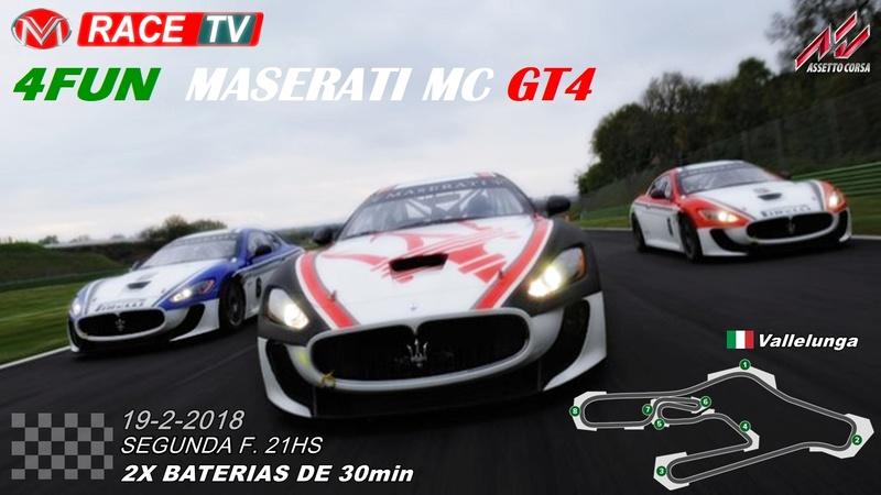 4fun - Maserati GT4 Vallel10