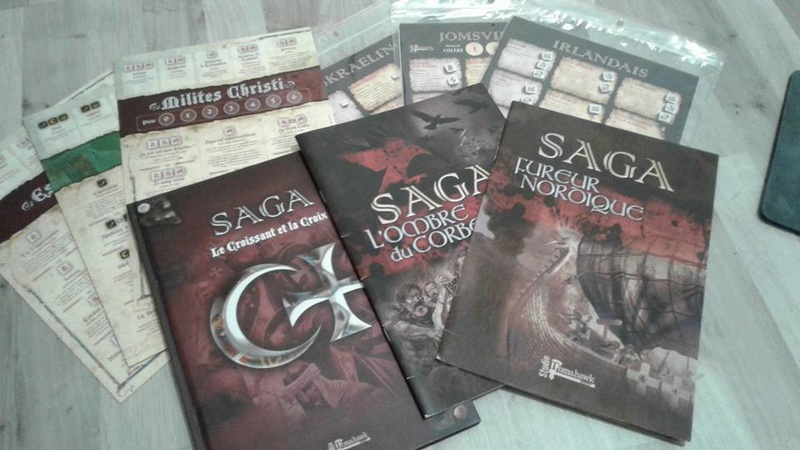 [A VENDRE] Livre règles SAGA / Perry Miniatures médieval / Warlord Games 27539910