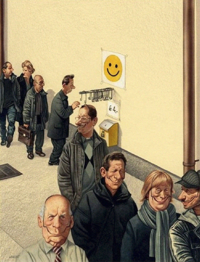 Brutally Honest Illustrations Show What's Wrong With Today's Society 4cca7310