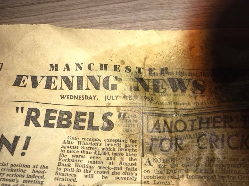 Old newspapers show that today's news is not new news.  E07cb310